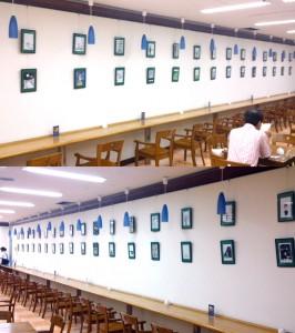 『人生という限りある時間 のなかから永遠を見つけようとする青年』刊行記念「キン・シオタニ氏原画展」