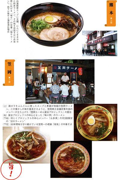 全国10地域・「ご当地ラーメン」の熱い取り組み 熊本・笠岡